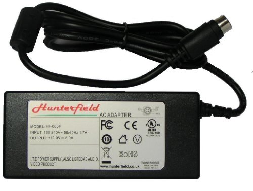 4 Pin type 12V 5A AC adapter for TVs, Suitable for: Bush: LCD17TV002, IDLCD15W002X, IDLCD17TV002X, IDLCD17TV0022X, LCDS20TV002..........Alba: ALCD15TV4, ALCD15TV5..........JVC: LT15B60SJ, LT17C50BJ, LT17C88SJ, LT17D50BK, LT20E50SJ, LT20B60, LT20DA7.......