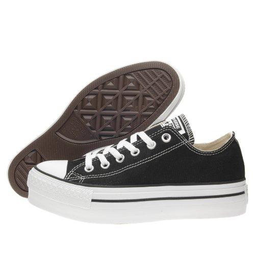 Converse A/S Ox Platform Canvas, Women's Hi-Top Sneakers, Black, 5.5 UK (39...