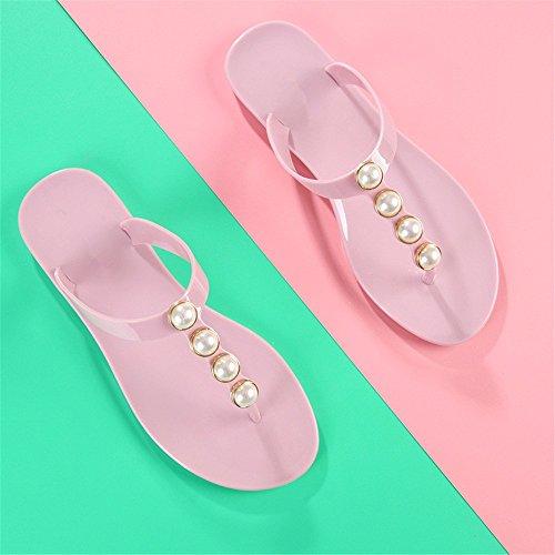 FLYRCX Semplice fashion Beach Flip Flop ladies estate pantofole d