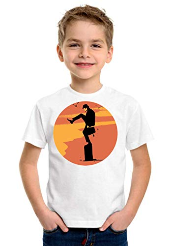 Colorful Guy Kinder Unisex T-Shirt 5-13 Ages White Large