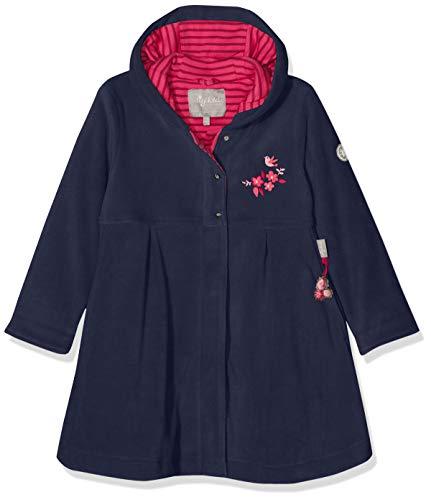 Sigikid Mädchen Fleece, Mini Mantel, Blau (Mood Indigo 275), 128
