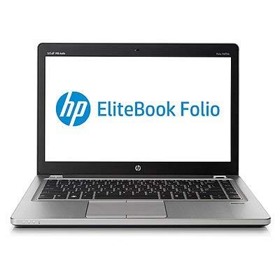 'HP EliteBook 9470m-portatile da 14, Intel Core i5, 4GB RAM, 180GB), Nero (Ricondizionato Certificato)