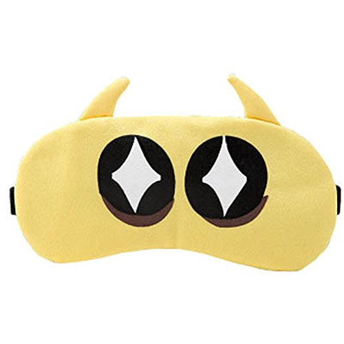 Schlafmaske Schlafenaugen-Abdeckung Super-Smooth Augenmaske für Reise, Schwabbelscheibe