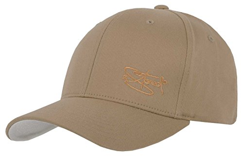 2Stoned Flexfit Cap Wooly Combed Khaki mit Stick, Kindergröße Youth (53 cm - 55 cm), Basecap für Kinder -