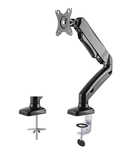 'DK201 M Monitor Desk Mount Displayhalterung Gas Lift for 13 inch to 27 inch Diagonal Can Hold up to 6.5 kg