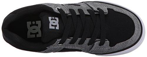 DC PURE TX SE D0320423, Sneaker Uomo Black/Grey/Black