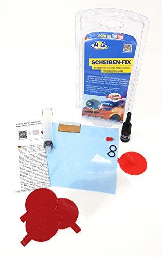 ATG Scheiben-FIX–Scheiben-Reparaturset – Steinschlag-Reparatur-Set 17tlg