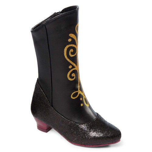 Disney Frozen Princess Anna Black and Gold Costume Boots (2/3) by Disney