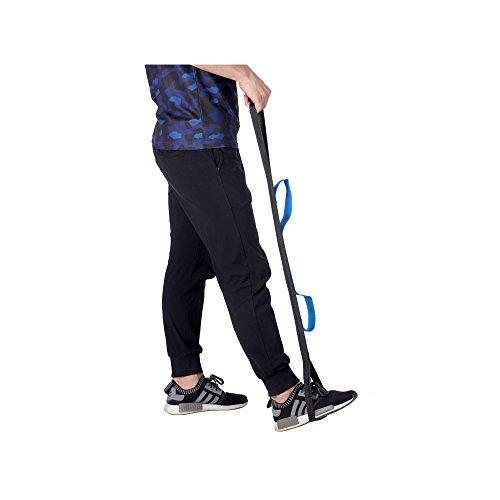 Beinhebehilfe Fuß festen Schlaufe mit drei Hand Grip, für Auto, Rollstuhl, Bett, Hip Ersatz, Stuhl Mobilität Hilfe Werkzeug