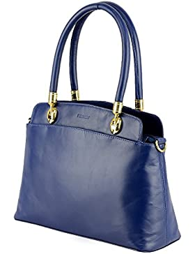 Damentasche Echt Leder Damen Henkeltasche Handtasche Schultertasche Umhängetasche Shopper Abendtasche