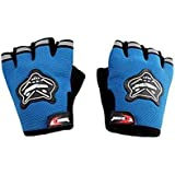 Aadishwar Creations HGM105 Half Hand Gloves for Motorcycle/Cycle Riding