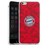 DeinDesign Apple iPhone 6s Plus Silikon Hülle Case Schutzhülle FC Bayern München Camouflage FCB