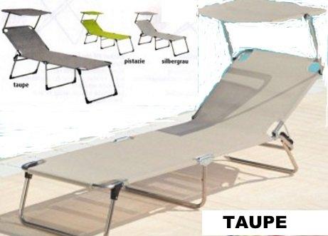 42 Cm de haut - 3 pieds en aLUMINIUM - 5,8 kg-piscine plage sauna terrasse bain de soleil jANKURTZ-rutenhalter trépied pour chaise longue 190 x 58 cm-hauteur : 42 cm-couleur : gris-pistache sTABIELO charge maximale : 120 kg-dISTRIBUTION-holly ® produits sTABIELO contre supplément avec holly fÄCHERSCHIRMEN sur demande-holly-sunshade ®-innovation fabriqué en allemagne-adapté pour traversin-cF-aSIN/iSBN : b00 vbus4kg -