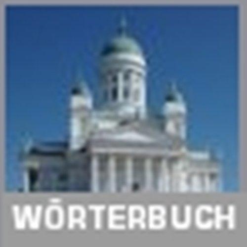 Innovatives Wörterbuch Deutsch-Finnisch / Finnisch-Deutsch für Windows, Linux, Mac OS X sowie für Pocket PCs und Smartphones