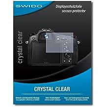"""2 x SWIDO® Pellicola Protettiva Sony Cybershot DSC-RX10 IV Screen Protector Pellicola Protettiva Film """"CrystalClear"""" invisibile"""