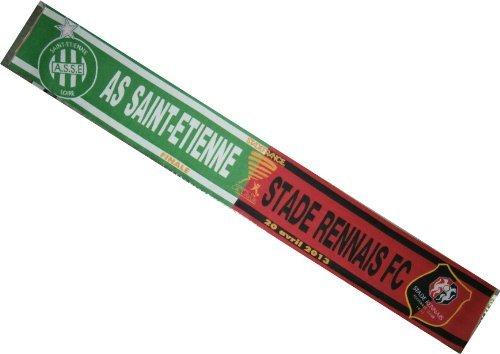 –Sciarpa collezione ufficiale finale taglio della lega 2013di calcio–Asse as Saint Etienne ASSE