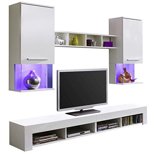 wohnwand nussbaum schwarz bestseller shop f r m bel und. Black Bedroom Furniture Sets. Home Design Ideas