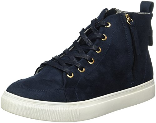 Another-Pair-of-Shoes-TamiE1-Scarpe-da-Ginnastica-Alte-Donna-Blu-Dark-Blue70-38-EU
