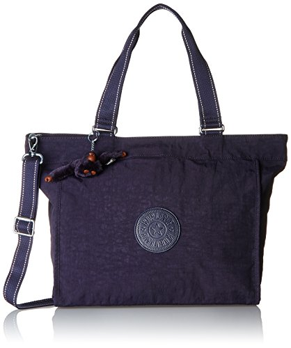 Kipling Damen New Shopper L Tote, Violett (Blue Purple C), 48.5x34x0.1 cm (Tote Bag New-handtaschen)