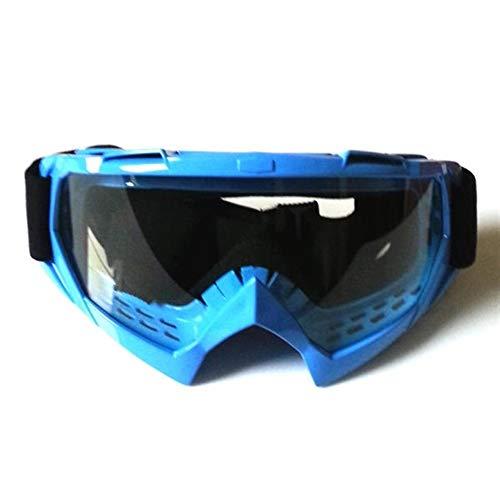 Klare, Winddichte Anti-UV-Skibrille zum Klettern CS Staubdichte Brillenglasscheibe (Farbe : 7)