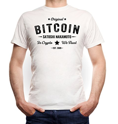 Certified Freak Bitcoin T-Shirt White L