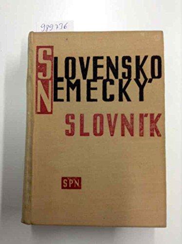 Slowakisch-Deutsches Wörterbuch