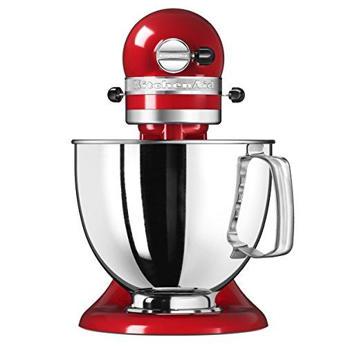 Kitchenaid-5KSM125EER-Artisan-Robot-ptissier-Rouge-Empire-48-L-300-W