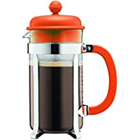 Bodum 1913-948B-Y17 - Cafetière à Piston 3 Tasses - 0,35 L - Orange