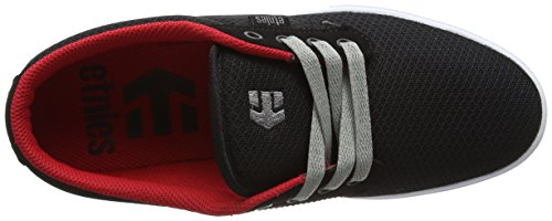 Etnies Jameson 2 Eco, Chaussures de Skateboard Homme Black White Red Eco