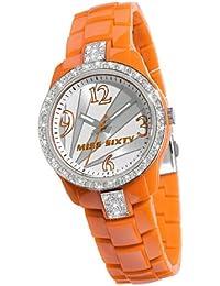 Miss Sixty SRA008 - Reloj de pulsera para mujer, plata