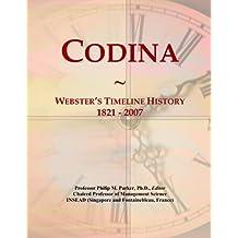 Codina: Webster's Timeline History, 1821 - 2007