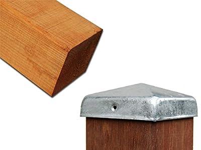 Zaunpfosten 4kant in vielen Ausführungen - Bamboogla Qualitätsprodukt! von Bamboogla auf Du und dein Garten