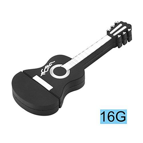 Chiavetta usb con forma di chitarra, chiavetta usb swiftwan con chiavetta usb 16.0 chiavetta usb intelligente con memoria nera per datario