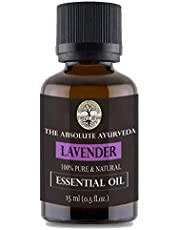 Sheer Veda Lavender Oil Essential Oil, Pure, Natural and Undiluted for Skin, Hair and Aromatherapy. 15 ml