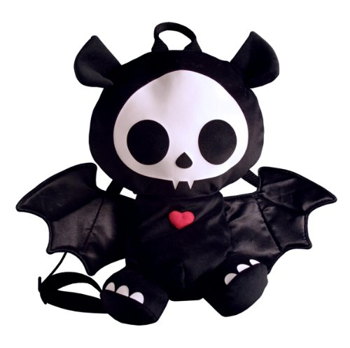 Toynami Skelanimals Deluxe Backpack Diego Plush - Bat by Toynami - Deluxe Diego