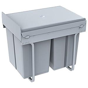 Abfallbehälter Küche 40L – Dein Haushalts Shop