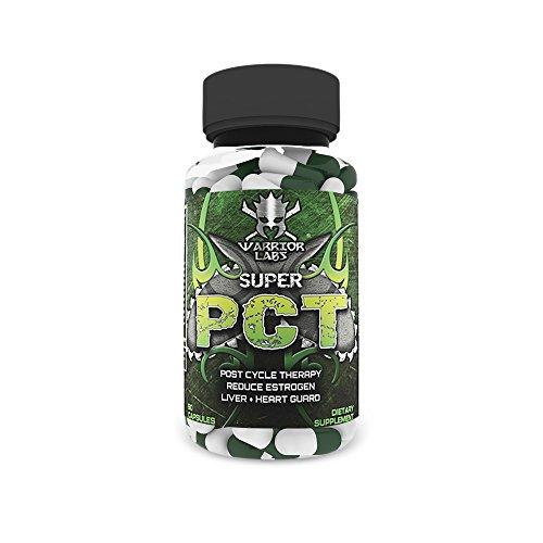 SUPER PCT por Warrior Labs, Post ciclo terapia, todo en uno, 90 Caps