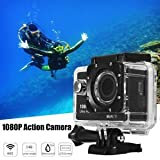 Tradico® TradicoBrand New Diving Underwater Waterproof WiFi 1080P Full HD Sport Action Camcorder DVR Cam
