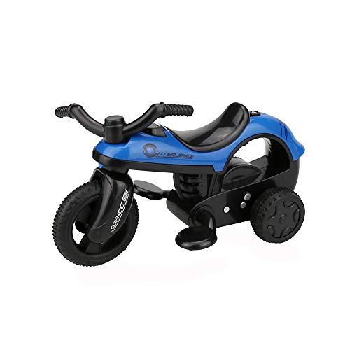 ❤jieGREAT❤ Mini Vehicle Pull Back Bikes ,Big Tire Wheel Kreative Geschenke für Kinder (A) - Tire Big Bike