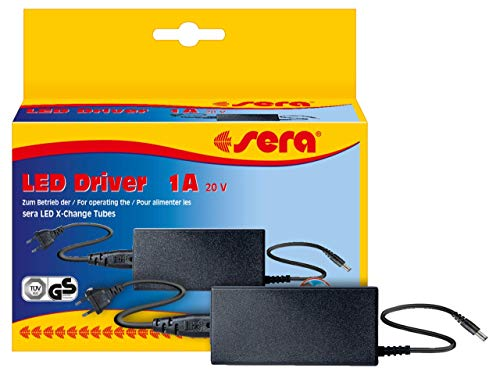 sera 80772 LED Driver Vorschaltgerät 20V 1A (neue Version) zum Betrieb der sera LED Tubes, max. Verbrauch < 20 Watt -