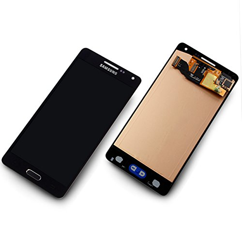 galaxy a5 2016 display LCD Display Samsung A500F Galaxy A5 Original full set Black - LCD Display + Display Glas + Touchscreen + Elektronik