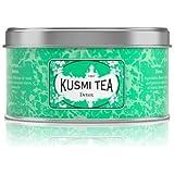 Kusmi Tea -Thé Detox - Mélange de Maté, Thé Vert, et Plantes Aromatisé Citron - À Déguster Chaud ou en Thé Glacé…