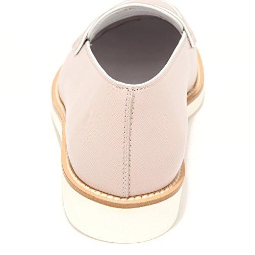 7883L mocassini donna TODS gomma xl profilo scarpe shoes loafers women Beige