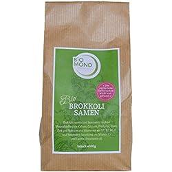 BIO Brokkoli Samen Sprossen Keimsaat BIOMOND / 300 g / zur Sprossenaufzucht / zum Keimen / hoher Sulforaphangehalt / auch ganz zu verwenden