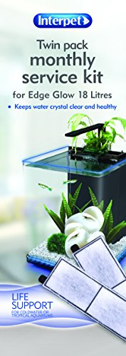 Interpet Service Kit for Edge Glow Aquarium Fish Tank 2