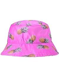 49779245 ZLYC Unisex Funky Fruit Print Bucket Hat Fishmen Outdoor Cap