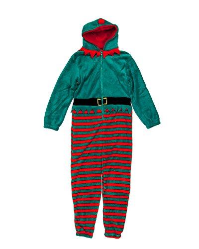 Kids Christmas Onesie Elf 5-6 yrs - Christmas Onesies