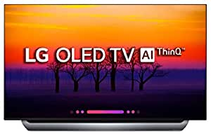 LG 139 cm (55 inches) 4K Ultra HD Smart OLED TV OLED55C8PTA (Black) (2018 Model)