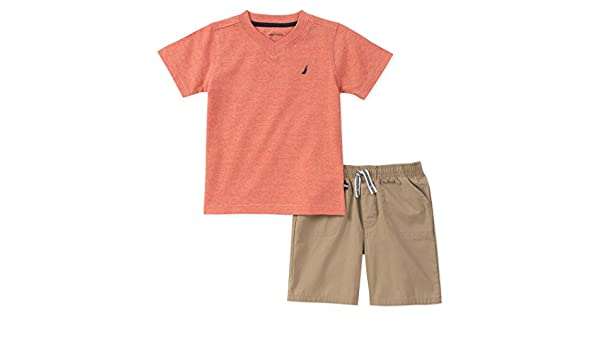 Nautica Boys Tee with Shorts 62E52077-99