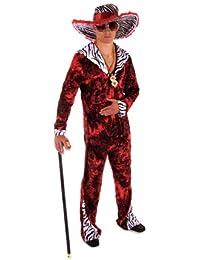 Big Daddy Fancy Dress Costume (Red)